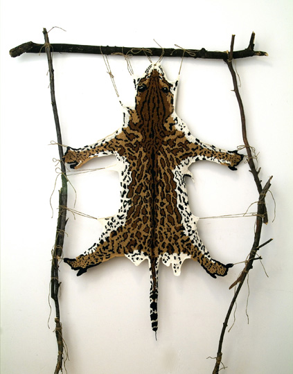 """Ocelot Series,"" by Ruth Marshall, 2010-2011"